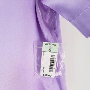 delicates Intimates & Sleepwear - Delicates 3 Piece Lounge Sleep Wear Silk Pajamas